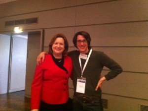 Foto of Gillian Muessig and Axel Jack Metayer